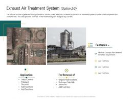 Exhaust Air Treatment System Removal Ppt Powerpoint Presentation Styles Vector