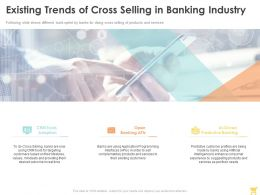 Existing Trends Of Cross Selling In Banking Industry Ppt Powerpoint Presentation Ideas