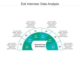 Exit Interview Data Analysis Ppt Powerpoint Presentation Pictures Example Topics Cpb