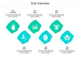 Exit Interview Ppt Powerpoint Presentation Ideas Demonstration Cpb