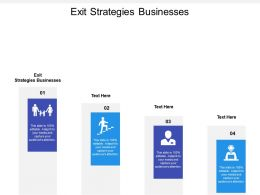 Exit Strategies Businesses Ppt Powerpoint Presentation Styles Graphics Template Cpb