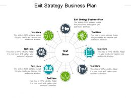 Exit Strategy Business Plan Ppt Powerpoint Presentation Icon Introduction Cpb