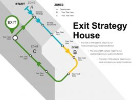 Exit Strategy House Sample Of Ppt