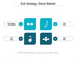 Exit Strategy Stock Market Ppt Powerpoint Presentation Model Professional Cpb