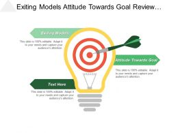 Exiting Models Attitude Towards Goal Review Corporate Governance Cpb