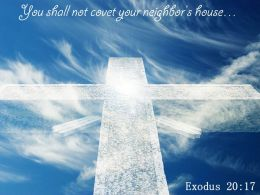 Exodus 20 17 You shall not covet PowerPoint Church Sermon
