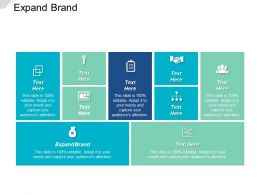 Expand Brand Ppt Powerpoint Presentation Icon Example File Cpb