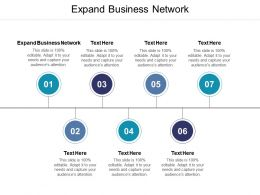 Expand Business Network Ppt Powerpoint Presentation Images Cpb