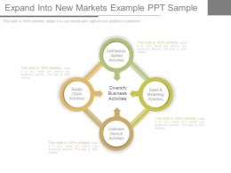 Expand Into New Markets Example Ppt Sample