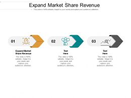 Expand Market Share Revenue Ppt Powerpoint Presentation Styles Deck Cpb