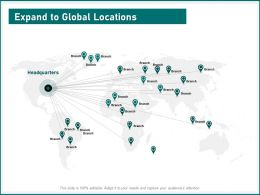 Expand To Global Locations Headquarters Capture Ppt Powerpoint Presentation Rules
