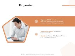 Expansion Ppt Powerpoint Presentation Summary Graphics Template