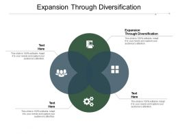 Expansion Through Diversification Ppt Powerpoint Presentation Summary Themes Cpb