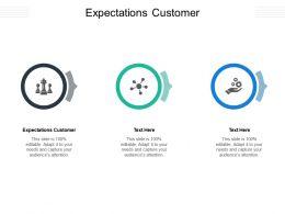 Expectations Customer Ppt Powerpoint Presentation Portfolio Designs Cpb