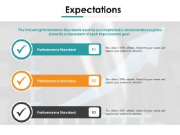 Expectations Ppt Gallery Graphic Tips