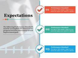Expectations Ppt Infographic Template Example Introduction