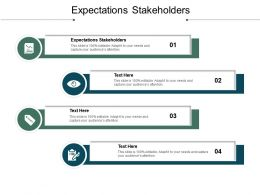 Expectations Stakeholders Ppt Powerpoint Presentation Styles Example File Cpb