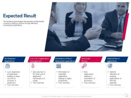 Expected Result Automate Process Ppt Powerpoint Presentation Gallery Smartart