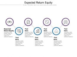 Expected Return Equity Ppt Powerpoint Presentation File Portfolio Cpb