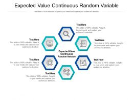 Expected Value Continuous Random Variable Ppt Powerpoint Presentation Model Objects Cpb
