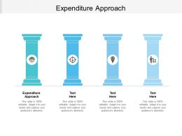 Expenditure Approach Ppt Powerpoint Presentation Inspiration Example Cpb