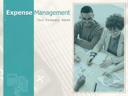 Expense Management Powerpoint Presentation Slides
