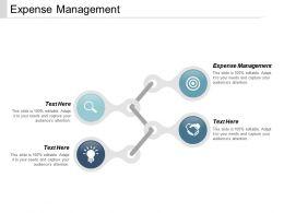Expense Management Ppt Powerpoint Presentation Portfolio Professional Cpb