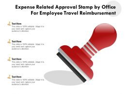 Expense Related Approval Stamp By Office For Employee Travel Reimbursement