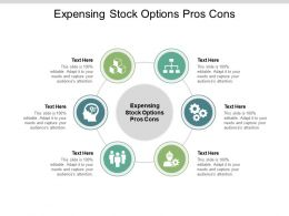 Expensing Stock Options Pros Cons Ppt Powerpoint Presentation File Icon Cpb