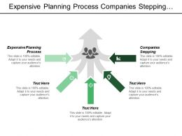 Expensive Planning Process Companies Stepping Costly Process Providers Evaluating