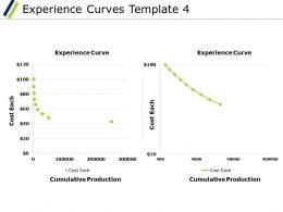 Experience Curves Ppt Powerpoint Presentation File Backgrounds