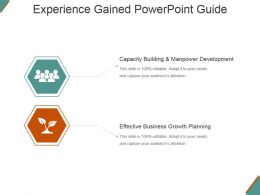 Experience Gained Powerpoint Guide