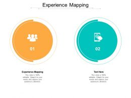 Experience Mapping Ppt Powerpoint Presentation Slides Smartart Cpb