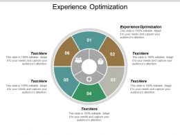 Experience Optimization Ppt Powerpoint Presentation Outline Graphic Tips Cpb