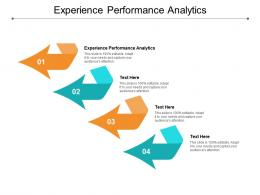 Experience Performance Analytics Ppt Powerpoint Presentation Icon Styles Cpb