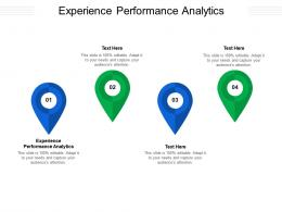 Experience Performance Analytics Ppt Powerpoint Presentation Inspiration Example Topics Cpb