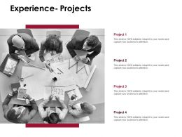 Experience Projects Communication D220 Ppt Powerpoint Presentation Infographic Template Model