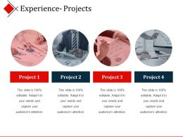 Experience Projects Powerpoint Themes