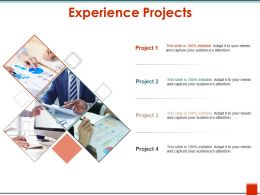 Experience Projects Ppt Design Templates
