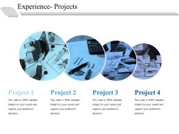Experience Projects Ppt File Guidelines