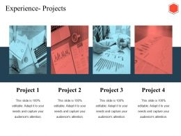 Experience Projects Ppt Outline