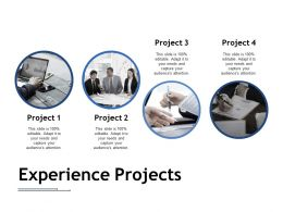 Experience Projects Ppt Pictures Slide Portrait