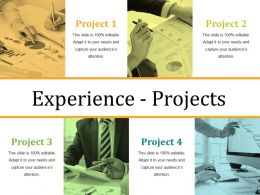Experience Projects Presentation Visual Aids