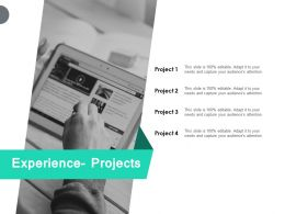 Experience Projects Server Technology Ppt Powerpoint Presentation Pictures Influencers