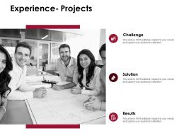 Experience Projects Slide Challenge Solution D219 Ppt Powerpoint Presentation Infographic