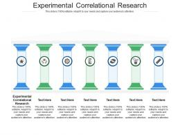 Experimental Correlational Research Ppt Powerpoint Presentation Layouts Sample Cpb
