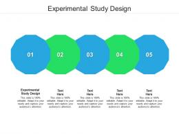 Experimental Study Design Ppt Powerpoint Presentation Icon Picture Cpb