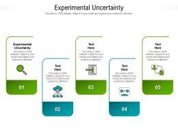 Experimental Uncertainty Ppt Powerpoint Presentation Portfolio Background Cpb
