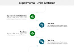 Experimental Units Statistics Ppt Powerpoint Presentation Pictures File Formats Cpb