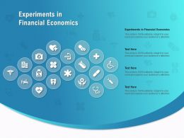 Experiments In Financial Economics Ppt Powerpoint Presentation Gallery Design Ideas